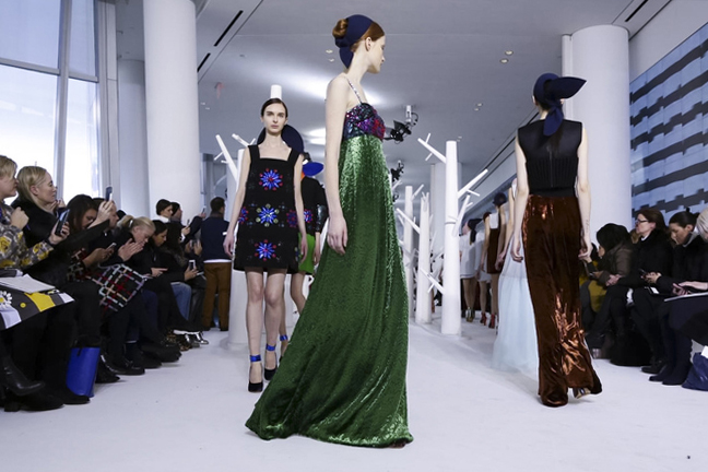 Delpozo Fall Winter 2015 New York